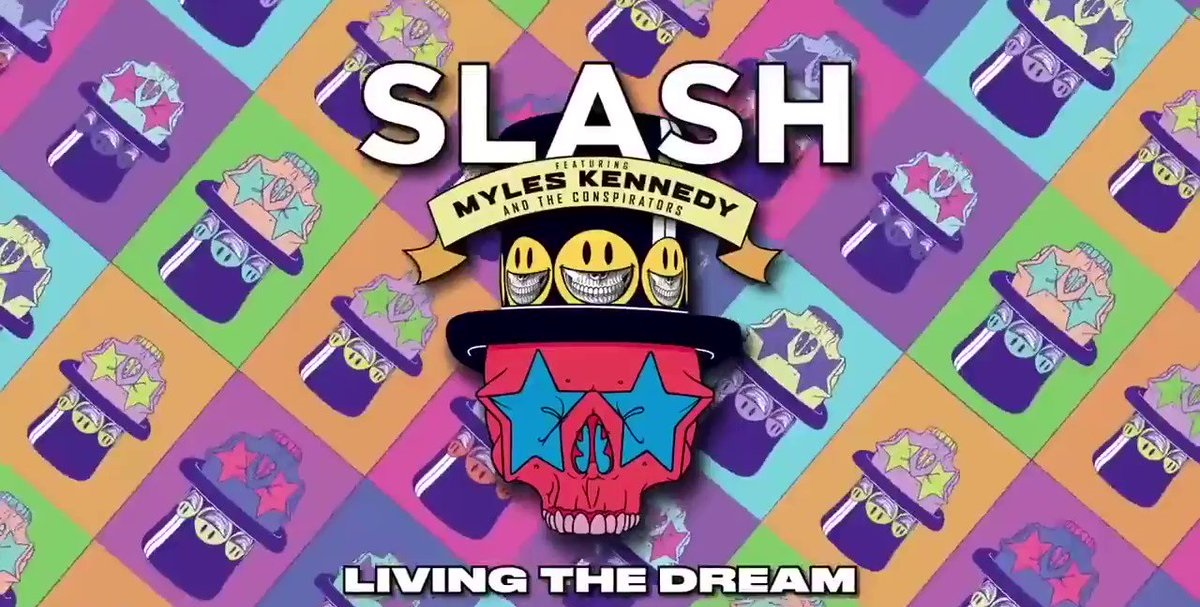SLASH FT MYLES KENNEDY & THE CONSPIRATORS – Living The Dream (Album Review)